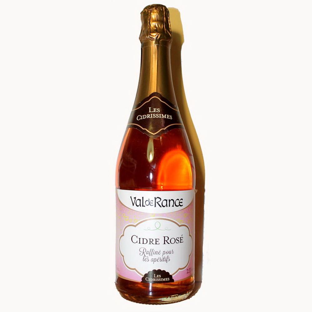 Купить сидр розовый Франция полусладкий Cidre Val de Rance