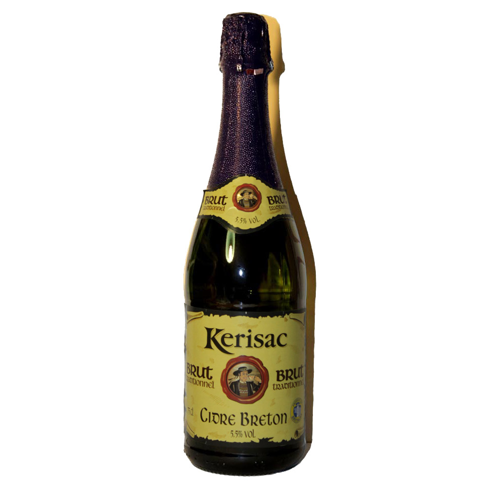 Сидр (Cider) нефильтрованый Kerisac Франция brut traditionnel