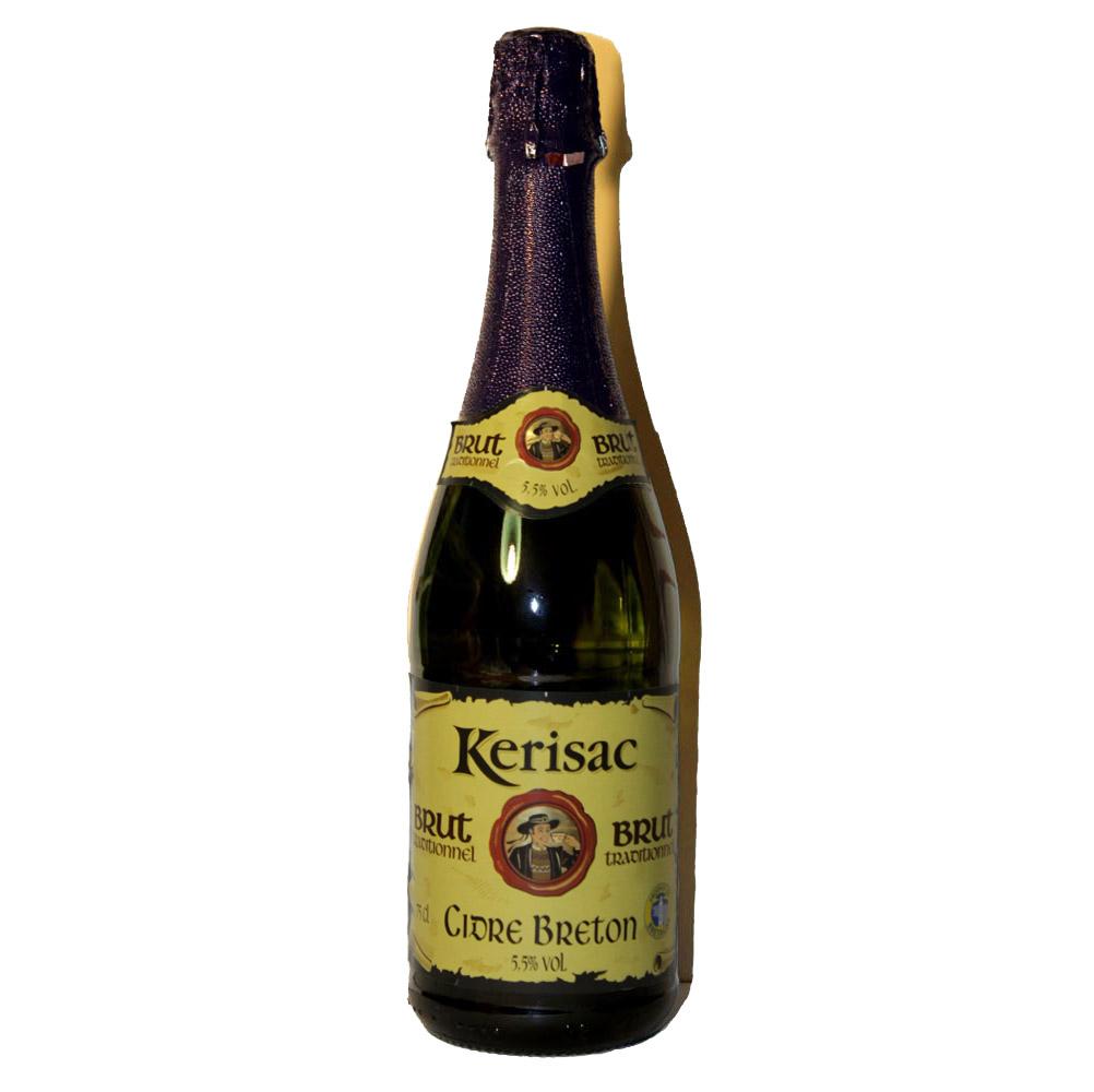 Сидр (Cider) нефильтрованый Kerisac Франция brut traditionnel