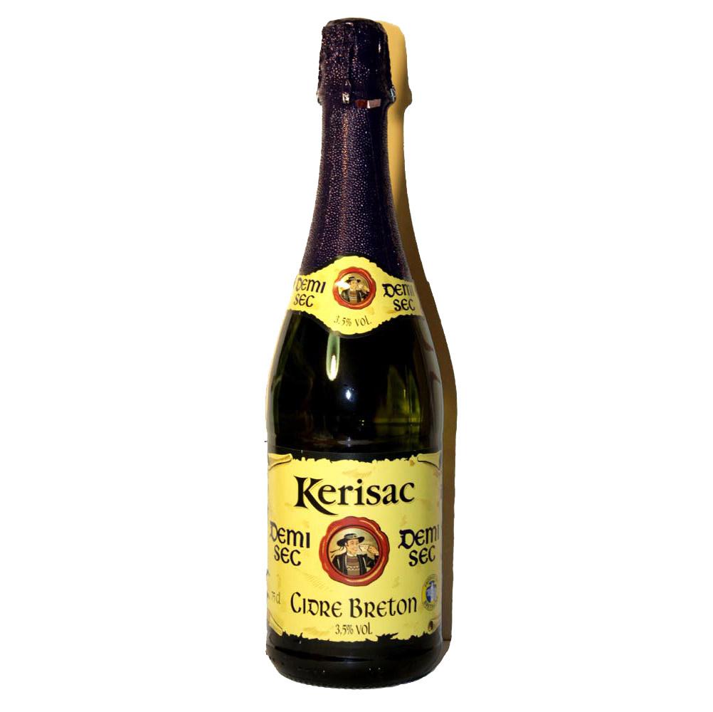 Сидр (Cider) полусухой Kerisac Франция яблочный