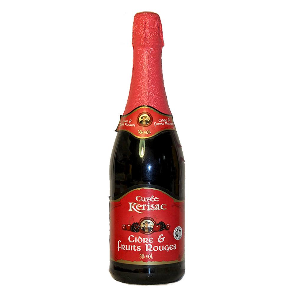 Сидр (Cider) Fruit Rouge розовый Kerisac красные ягоды