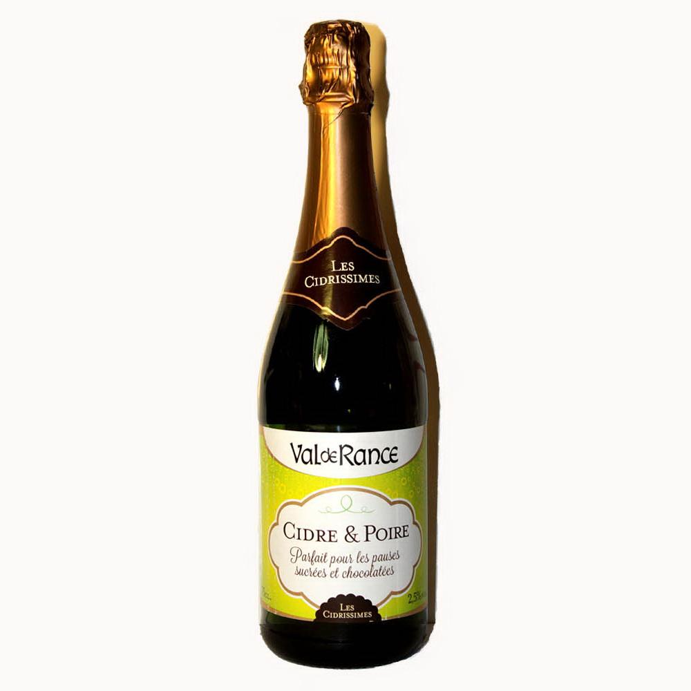 Купить сидр Франция полусладкий Cidre Val de Rance Les Cidrissimes яблочный