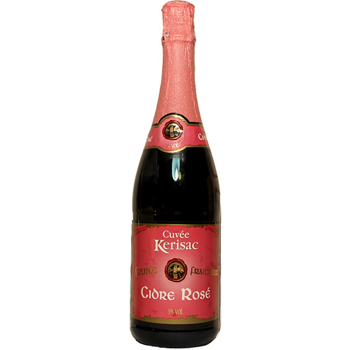 Сидр (Cider) Розовый Kerisac Франция яблочный сладкий