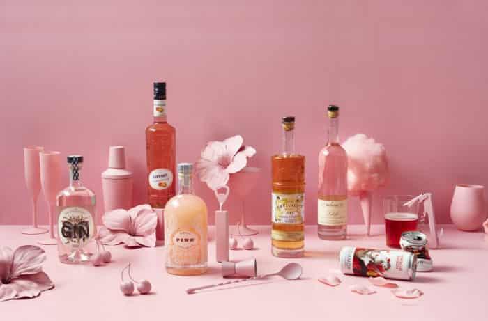 Палитра вкусов розового сидра